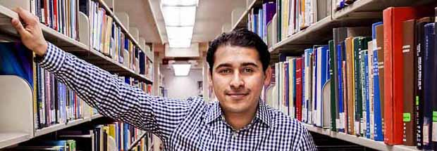 Arturo Fernandez, fourth-year Ph.D. student in statistics at UC Berkeley.